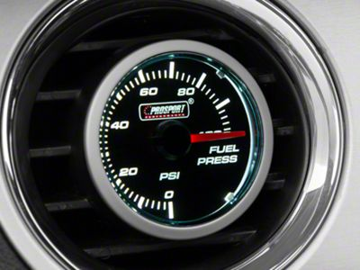 Dual Color Fuel Pressure Gauge - Electrical - Blue/White (79-19 All)