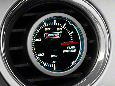 Dual Color Fuel Pressure Gauge - Electrical - Blue/White (79-18 All)