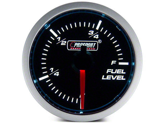 Dual Color Fuel Level Gauge - Electrical - Blue/White (Universal Fitment)