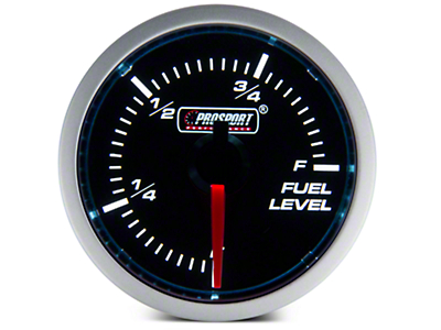 Dual Color Fuel Level Gauge - Electric, Blue/White (79-17 All)