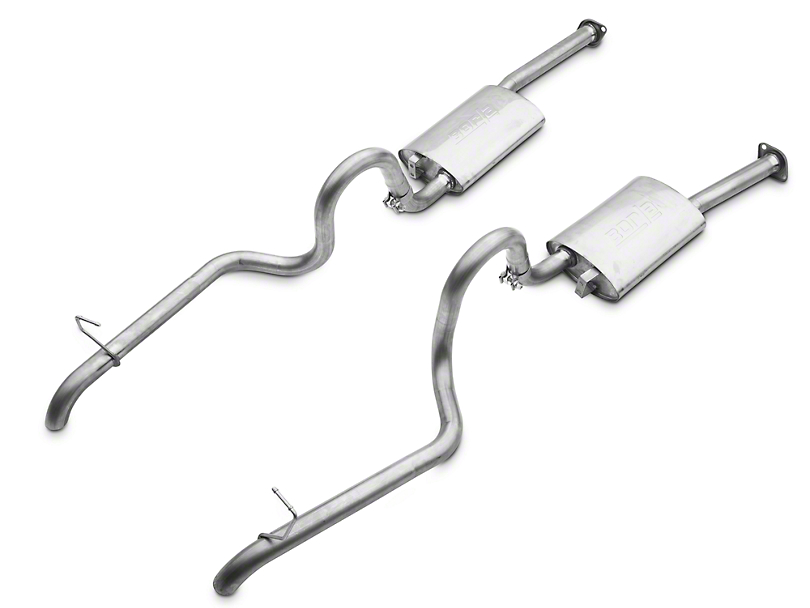 Borla Stinger S-Type Cat-Back Exhaust w/ Polished Tips (87-93 GT)