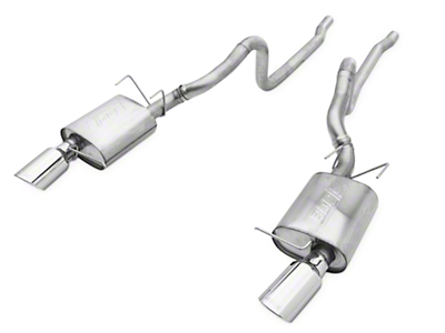 Borla Touring Cat-Back Exhaust (11-12 GT500)