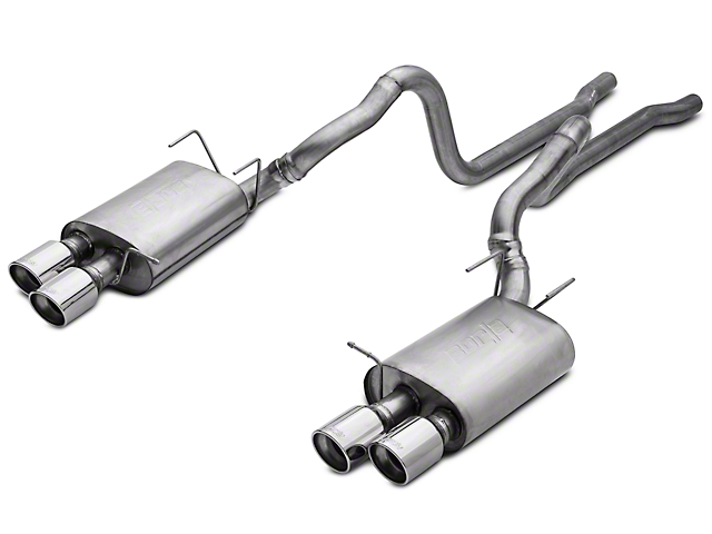 Borla Stinger S-Type Cat-Back Exhaust (13-14 GT500)