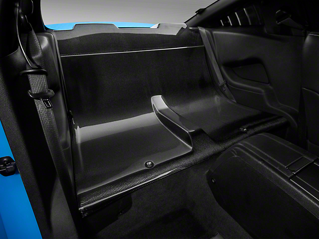 SpeedForm Carbon Fiber Rear Seat Delete (05-14 Coupe)