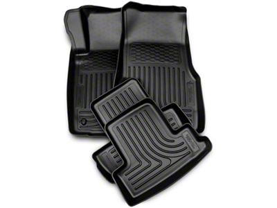Add Husky WeatherBeater Front & Rear Floor Liners - Black (10-14 All)