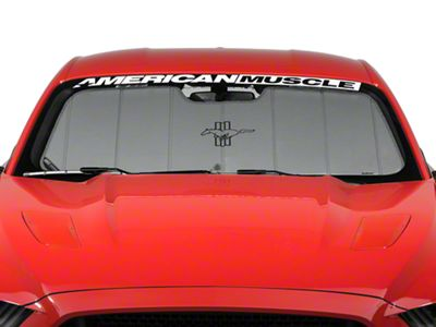 Add Covercraft UVS100 Heat Shield - Tri-Bar Pony Logo (15-17 All)