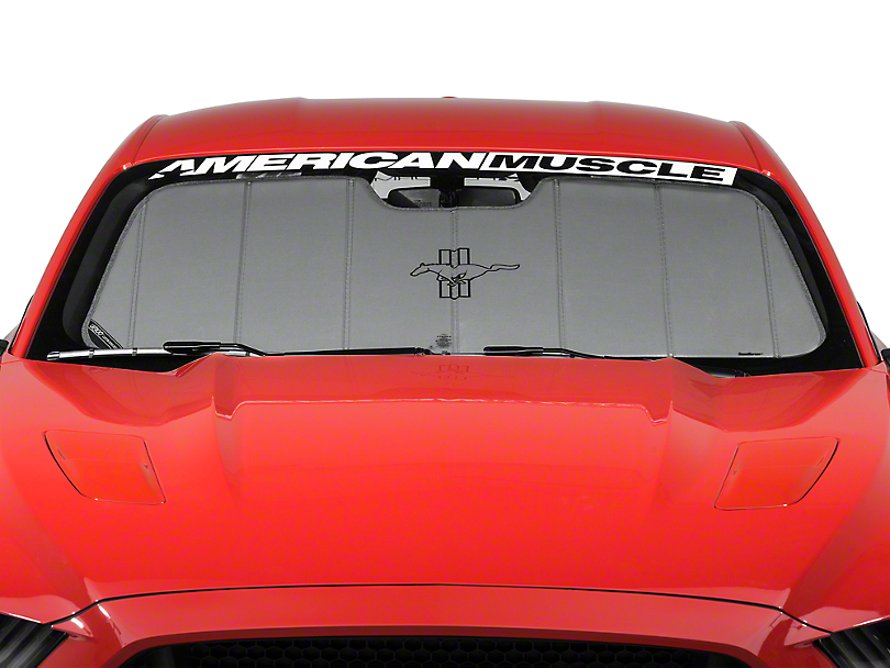 Covercraft UVS100 Heat Shield - Tri-Bar Pony Logo (15-17 All)