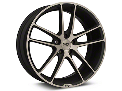 Niche Enyo Black Machined Wheel - 20x8.5 (15-18 GT, EcoBoost, V6)