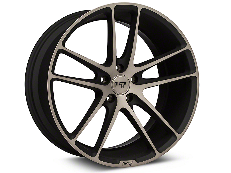 Niche Enyo Black Machined Wheel - 20x10 (05-14 All)
