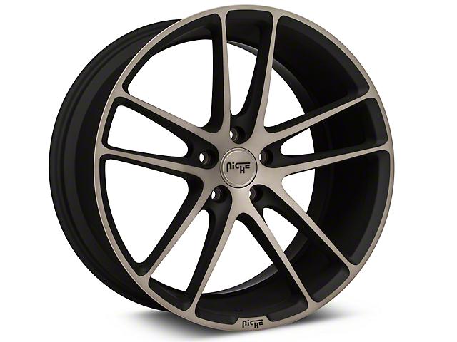 Niche Enyo Black Machined Wheel - 20x10 (15-17 All)