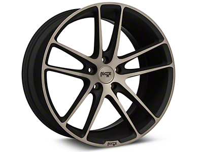 Niche Enyo Black Machined Wheel - 20x10 (15-17 All)