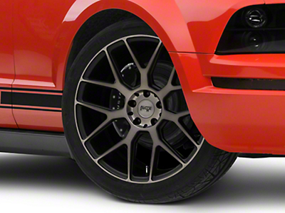 Niche Intake Black Machined Wheel - 20x9 (05-14 All)