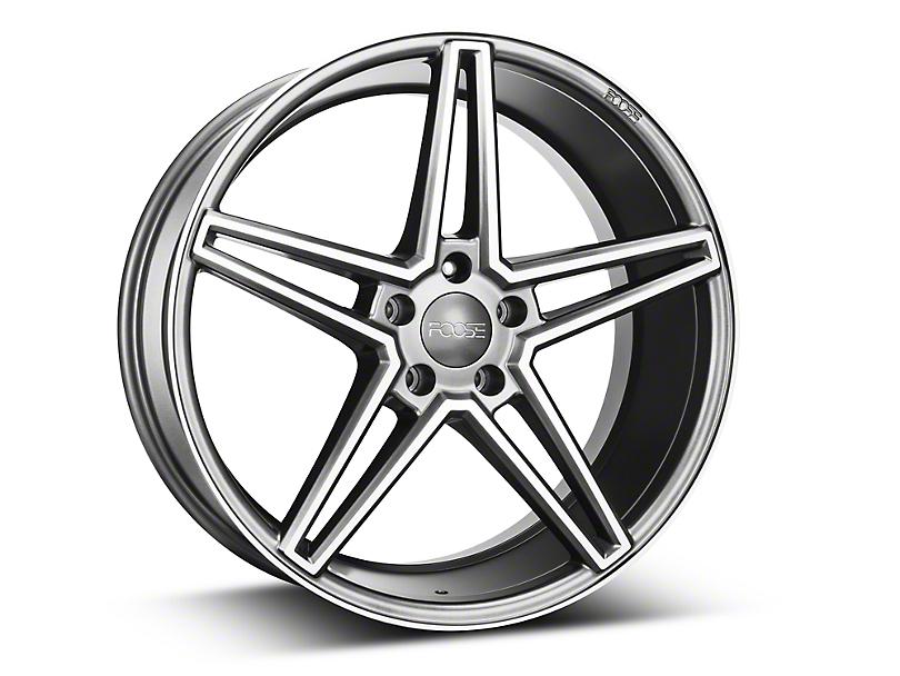 Foose Sport Charcoal Wheel - 20x9 (15-18 GT, EcoBoost, V6)