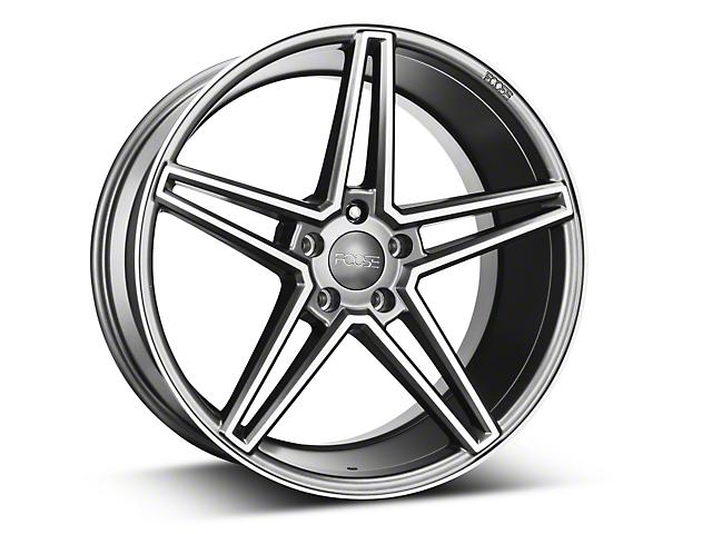 Foose Sport Charcoal Wheel - 20x10 (15-18 GT, EcoBoost, V6)