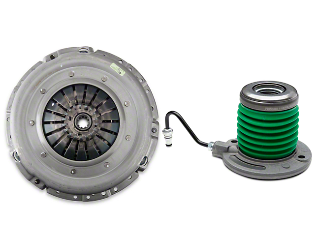 Exedy Mach 400 Stage 2 Organic Clutch Kit w/ Hydraulic Throwout Bearing - 10 Spline (05-10 GT)