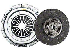 Exedy Mach 500 Stage 1 Organic Clutch Kit w/ Hydraulic Throwout Bearing; 10 Spline (05-10 GT)