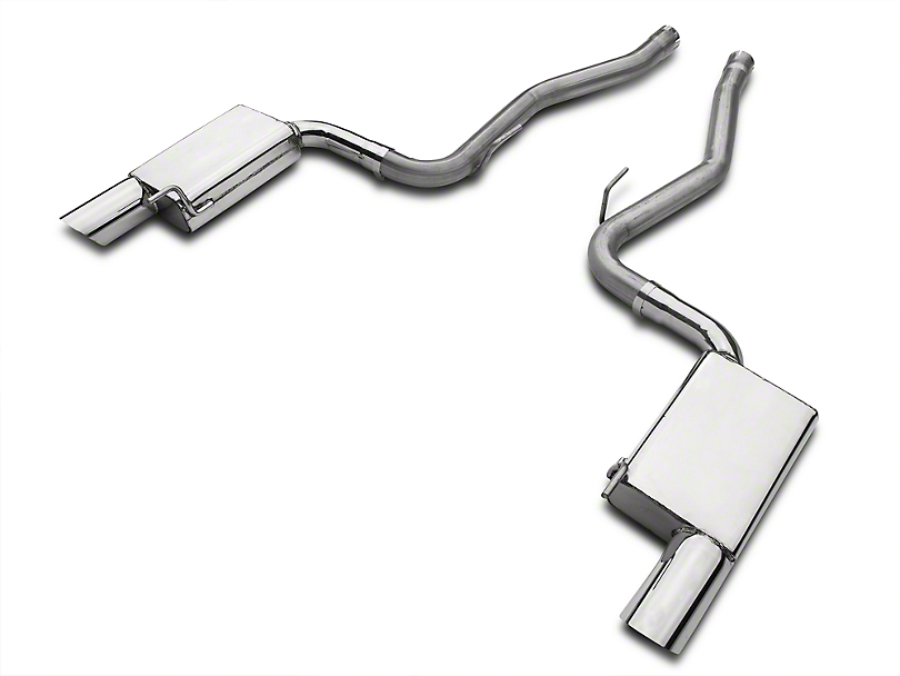 MAC Axle-Back Exhaust (15-17 GT Fastback)