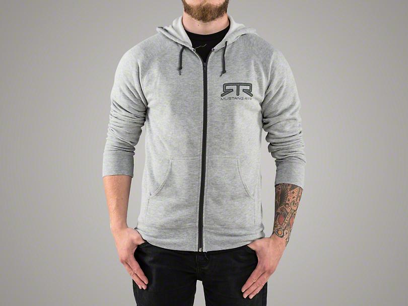 RTR Gray Zip-Up Hoodie