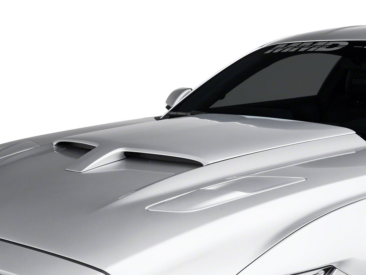 MMD by FOOSE Hood Scoop - Unpainted (15-17 GT, EcoBoost, V6)