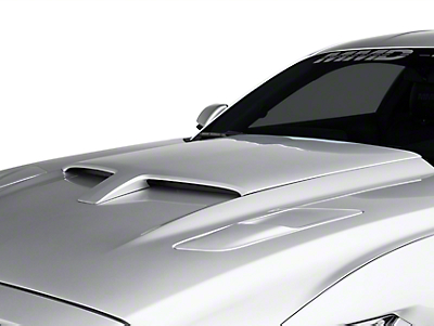 MMD by FOOSE Pre-Painted Hood Scoop - Shadow Black (15-17 All)