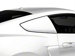MMD by FOOSE Pre-Painted Quarter Window Louvers - Oxford White (15-19 Fastback)