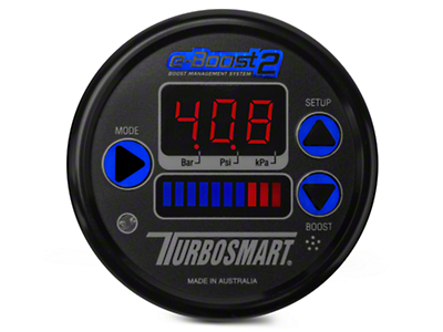 Turbosmart e-Boost2 Boost Controller - 66mm - Black (79-18 All)