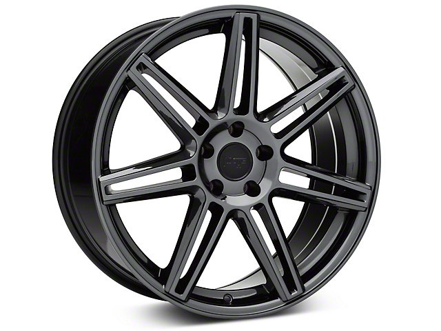 Niche Lucerne Black Chrome Wheel - 20x9 (15-17 All)