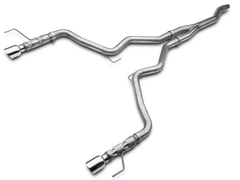 Stainless Works Cat-Back Exhaust w/ Y-Pipe (15-17 EcoBoost Fastback)