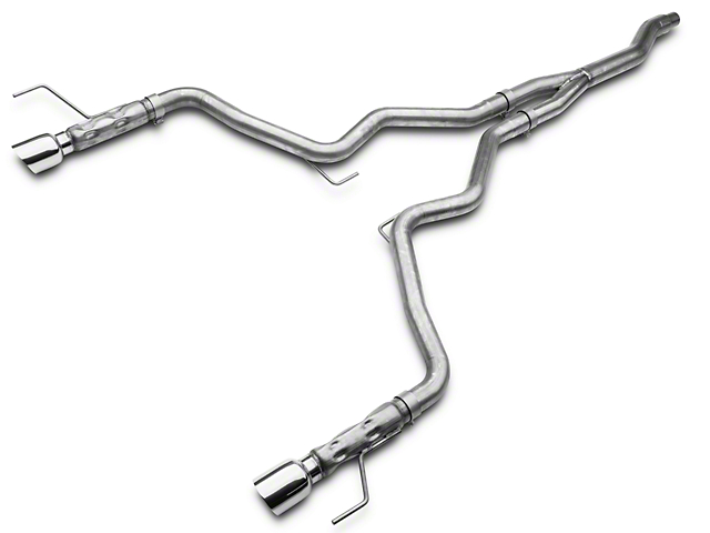 Stainless Works Cat-Back Exhaust with Y-Pipe (15-20 EcoBoost Fastback w/o Active Exhaust)