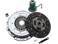 Exedy Grooved Mach 500 Stage 1 Organic Clutch Kit with Hydraulic Throwout Bearing; 23 Spline (11-17 GT)