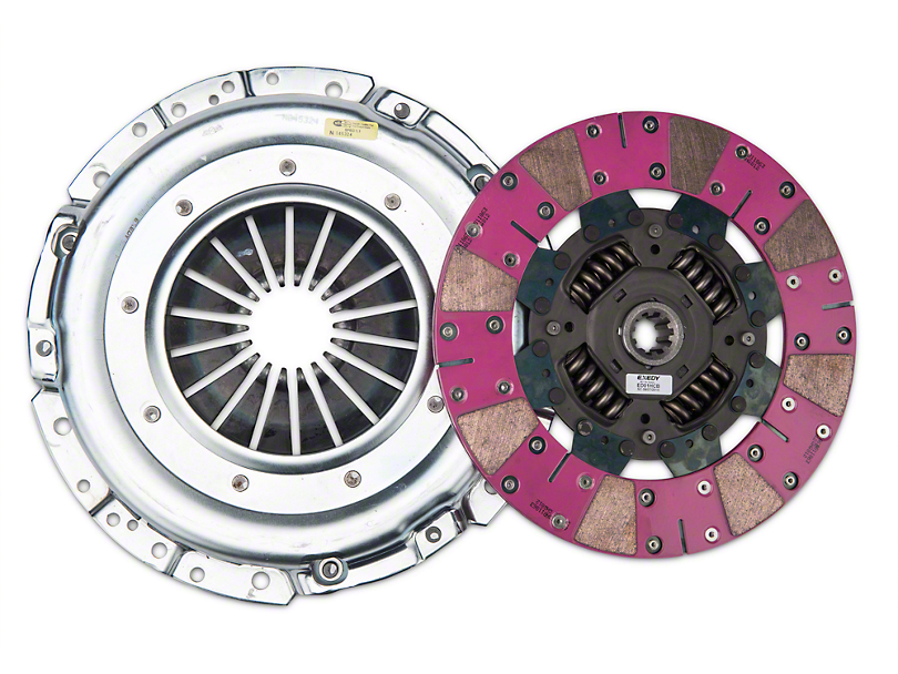 Exedy Grooved Mach 600 Stage 4 Clutch (Late 01-04 GT; 99-04 Cobra; 03-04 Mach 1)