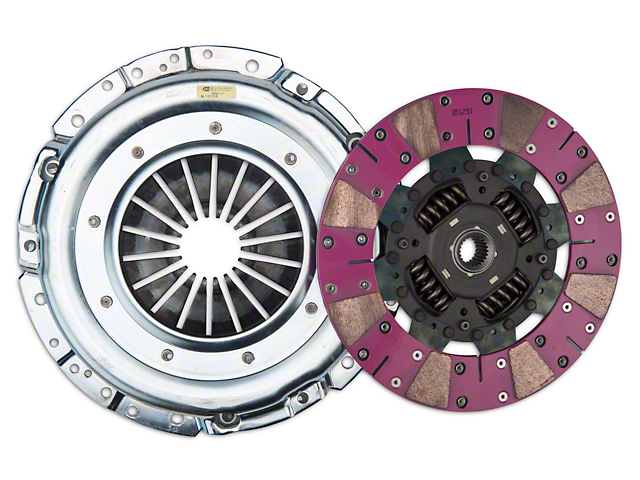 Exedy Grooved Mach 600 Stage 4 Clutch w/ Hydraulic Throwout Bearing (11-17 GT)