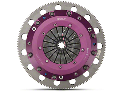 Exedy Hyper Twin Disc Clutch Kit w/ Flywheel (99-Mid 01 GT; 96-04 Cobra, Mach 1)