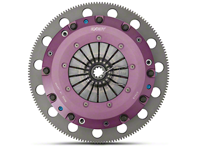 Exedy Hyper Twin Disc Clutch Kit w/ Flywheel - 10 Spline (96-98 GT; Late 01-10 GT)