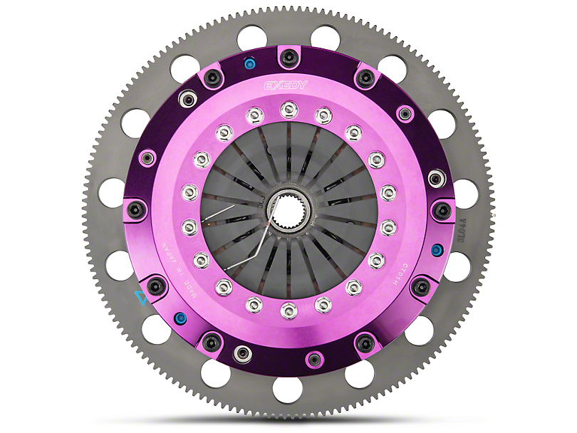 Exedy Hyper Twin Disc Clutch w/ Flywheel - 26 Spline - 8-Bolt (96-04 Cobra, Mach 1; 07-10 GT500)
