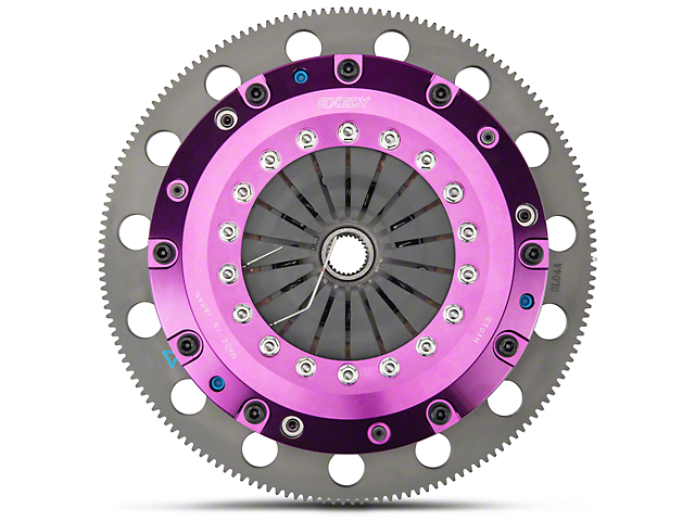 Exedy Hyper Cerametallic Twin Disc Clutch Kit w/ 8-Bolt Flywheel - 26 Spline (96-04 Cobra, Mach 1; 07-10 GT500)