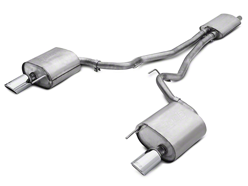 Borla Touring Cat-Back Exhaust (15-19 EcoBoost Fastback w/o Active Exhaust)