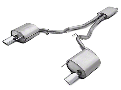 Borla Touring Cat-Back Exhaust (15-17 EcoBoost Fastback)