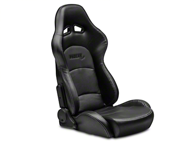 Procar Evolution Black Vinyl Reclining Seat - Passenger Side (79-14 All)