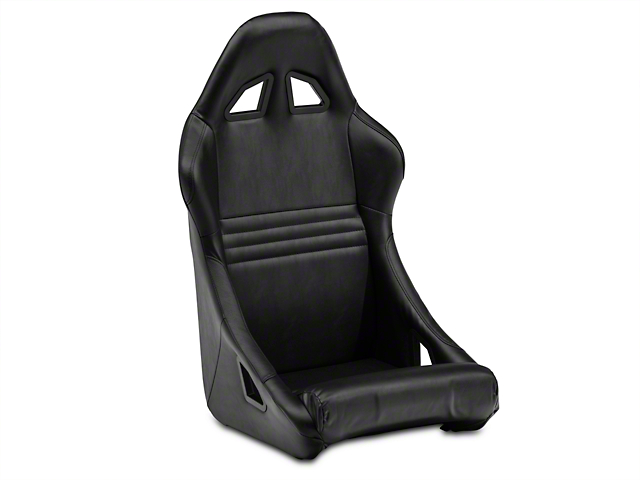 Procar Xtreme Black Vinyl Fixed Back Seat - Universal (79-14 All)