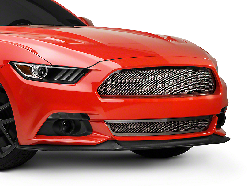 T-REX Upper Class-Series Polished Mesh Grille (15-17 GT, EcoBoost, V6)