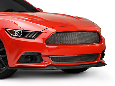 T-REX Upper Class Series Mesh Grille - Polished (15-17 GT, EcoBoost, V6)