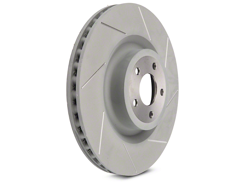 Steeda 15 in Slotted Rotors - Front Pair (15-18 GT w/ Performance Pack)