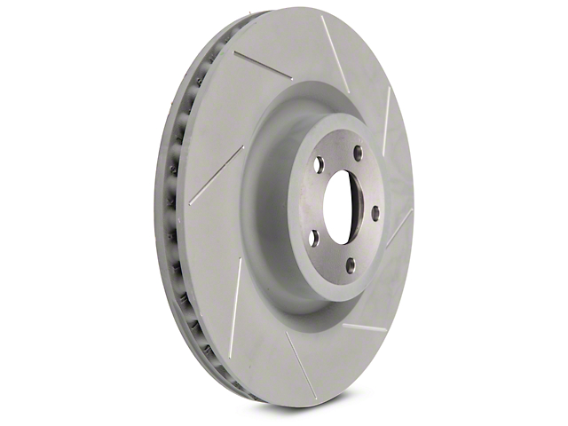 Steeda 15 in. Slotted Rotors - Front Pair (15-19 GT w/ Performance Pack)