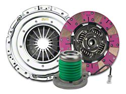 Exedy Mach 600 Stage 2 Cerametallic Clutch Kit with Puck Style Disc and Hydraulic Throwout Bearing; 23 Spline (15-17 GT)