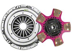 Exedy Mach 700 Stage 2 Cerametallic Clutch Kit with Puck Style Disc and Hydraulic Throwout Bearing; 23 Spline (15-17 GT)