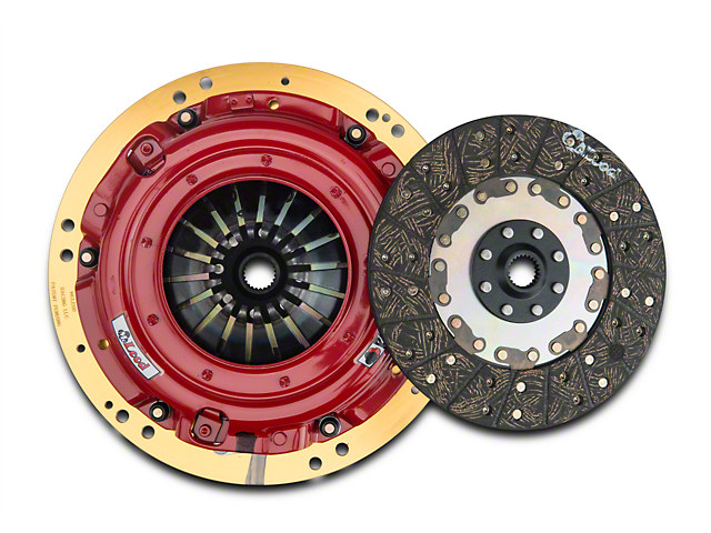 McLeod RST Twin Disc 800HP Organic Clutch Kit; 23 Spline (15-17 GT)