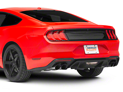 Ford Performance Smooth Decklid Panel - Gloss Black (15-18 All)