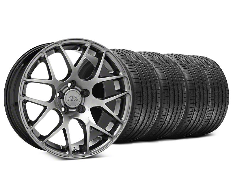 AMR Dark Stainless Wheel & Sumitomo Tire Kit - 20x8.5 (05-14 All)