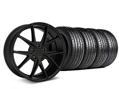 Niche Misano Matte Black Wheel & Sumitomo Tire Kit - 19x8.5 (05-14 All)
